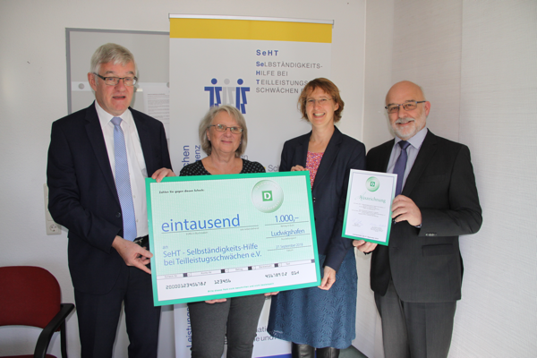 DEICHMANN Förderpreis für Integration in Rheinland-Pfalz an SeHT